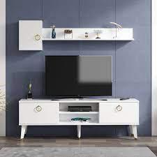 Alfa Tv Ünitesi Beyaz 150cmx35cm Fiyatı ve Özellikleri - GittiGidiyor