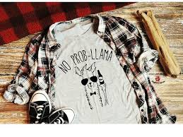<b>No Prob Llama</b> Shirt, <b>No Probllama</b> Graphic Tee, Llama Beer Bottle ...