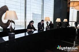 front desk at the mandarin oriental las vegas