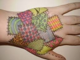 39 best Quilt Tattoo images on Pinterest | Tattoo ideas, Body mods ... & Image result for patchwork tattoo Adamdwight.com