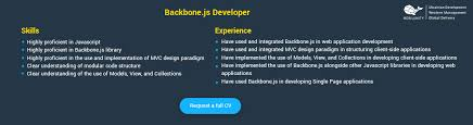Beautiful Backbone Js Resume Images - Simple resume Office .
