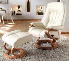 leather recliner chair and footstool leather transitional recliner chair and foot stool ottoman leather reclining chair