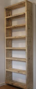 Basic wood shelves from 210 boards. Use wood screws, countersink & fill