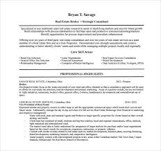 14 Real Estate Resume Templates To Download For Free | Sample Templates