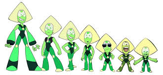 Why Peridot Is Shrinking Explanation With Science Steven