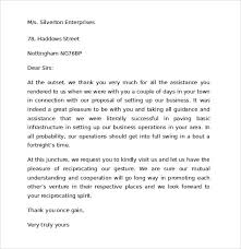 Thank You Letter Customer For Business Success Note Examples Within ...