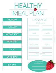 Meal Planning 101 Tips To Become A Pro Healthy Family
