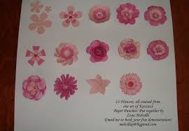 4 Petal Flower Paper Punch Another 4 Flowers Made With Those Kaszazz Daisy Punches Zenas