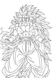 Coloriage Dessiner Dragon Ball Z