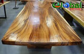 wood slab dining table beautiful: live edge suar wood dining conference table slab