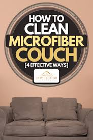 how to clean a microfiber couch 4