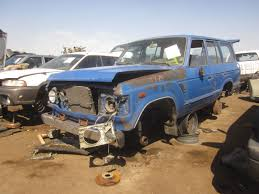 Picked Clean: Toyota Land Cruiser Junkyard Shoppers Must Move ...