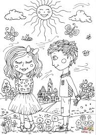 Small Picture Peter Boy in May coloring page Free Printable Coloring Pages