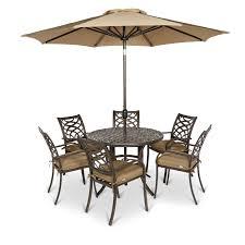 ripley metal 6 seater dining set departments diy at b q