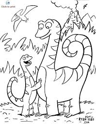Kids Dinosaur Coloring Pages Dinosaur Printable Coloring Pages
