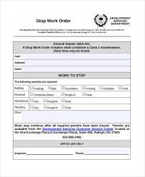 35 Work Order Template Free Download Word Excel Pdf