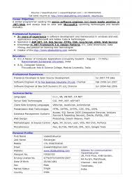 Best Resume Format For Software Developer Resume Template Best Resume Software Template Software Engineer