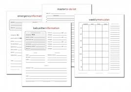 Format For Inventory List Using A Home Management Notebook The Ultimate Guide Printable