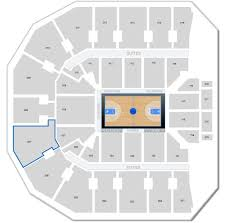 Where Is Row A In Section 307 At John Paul Jones Arena