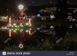 Bethlehem Lights Wreath Waldbreitbach Germany 14th Dec 2018 A Floating Advent