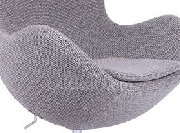 craggan camira virgin wool replica egg chair arne