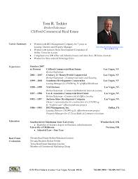 t file me resume cv and cover letter templates example real estate broker resume