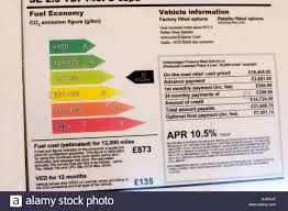 Vw Chart Fuel Efficiency Rating Chart On Display By New Vw Jetta Car