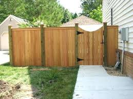 lowes fence gates wood 6 ft cedar privacy top cap with scalloped gate kit wood fence gate34 wood