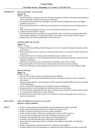 Download Retail Buyer Resume Sample as Image file