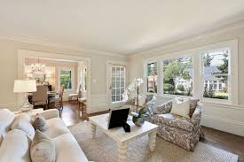 chair rail living room. Traditional Living Room With High Ceiling, Crown Molding, Hardwood Floors, Carpet, Chair Rail