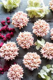 Hydrangea Flower Carrot Cake Cupcakes Half Baked Harvest