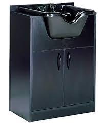 salon shampoo cabinets. Fine Shampoo Olla Shampoo Bowl And Cabinet Assembled Black In Salon Cabinets S