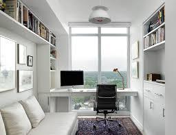 scandinavian home office. Modern Study Desk Home Office Scandinavian With Built-in Shelves Cotton Bed Pillows