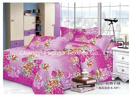 china polyester microfiber bedding set super bright square bed cover fabric china bedding set bed cover