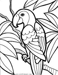 Free Printable Coloring Pages Sheet Worksheets For Toddlers Animals