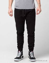 moto pants mens. brooklyn sweatpants pants men\u0027s black joggers \u0026 cloth moto mens twill jogger