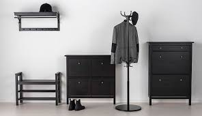 Hemnes Coat Rack Awesome HEMNES Hallway Series Blackbrown IKEA