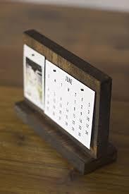 how to make a modern desk calendar
