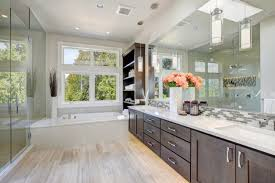 beautiful newly remodeled bathroom skyline construction and remodeling