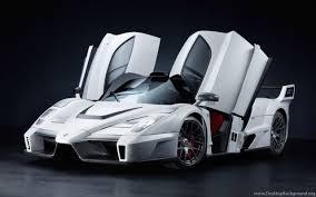 white ferrari cars wallpapers. Widescreen And White Ferrari Cars Wallpapers