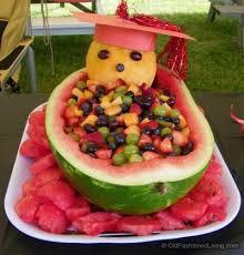 watermelon fruit basket for graduation.  Watermelon Watermelon Basket Inside Fruit For Graduation I