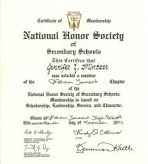 National Honor Society High School Essay Resume Template Sample