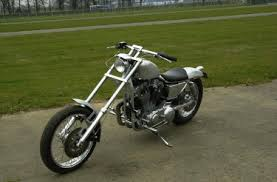 sportster wide front end club chopper forums
