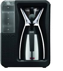 About the filter coffee maker pour over. Amazon Com Bodum Bistro Coffee Maker Automatic Pour Over Coffee Machine With Thermal Carafe Black 40 Ounce Kitchen Dining