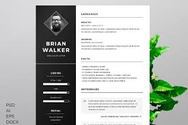 Photo Resume Template Free Free Resume Template CreativeBooster 1