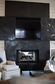 Over The Fireplace Tv Cabinet Blackened Stainless Steel And Tv Cabinet Over Fireplace