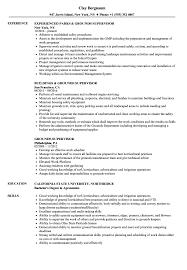 Grounds Supervisor Resume Samples Velvet Jobs