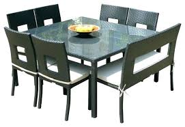 full size of outdoor dining table seats 8 tall square black round patio wood lovely kitchen large