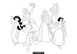 Ariel Little Mermaid Coloring Pages Printables E Online Sheets To