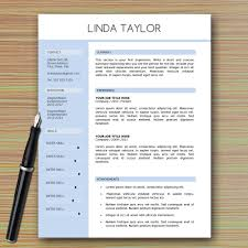 Professional Modern Resume Template For Microsoft Word